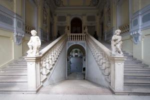 L'ingresso al Rettorato dell'Università di Ferrara